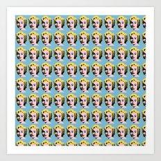 Liz Monroe Army 1 Art Print