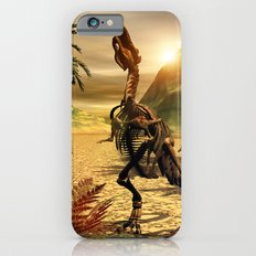 Tyrannosaurus skeleton iPhone 6s Slim Case