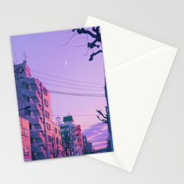 Lilac for a Night Stationery Cards