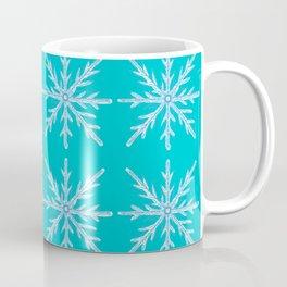 Winter/Christmas - Snow Crystals V.4 Coffee Mug