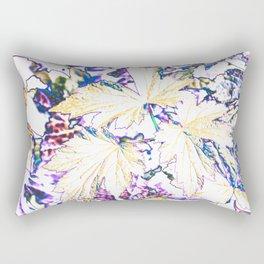 GERANIUM LEAVES BLUE Rectangular Pillow