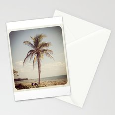 Palm Tree Water Tropical Plant Color Photography Stationery Cards