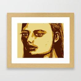 Dazed & Unphased Framed Art Print