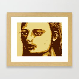 Dazed & Unphased Framed Art Print