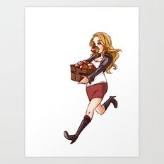 apple thief Art Print