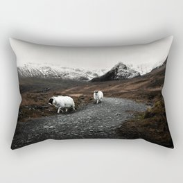 The Two Mountaineers Rectangular Pillow