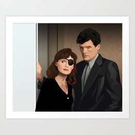 Interior Hurley Art Print