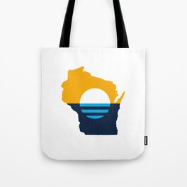 Wisconsin - People's Flag of Milwaukee Tote Bag