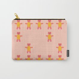 Pink bear print Carry-All Pouch