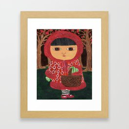 In The Hood Framed Art Print