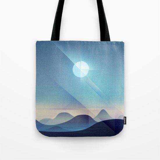 Northern Lights Abstract Tote Bag