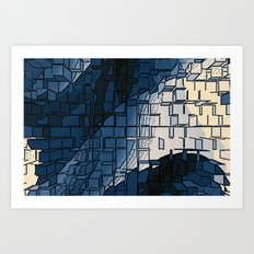 Blockage Art Print
