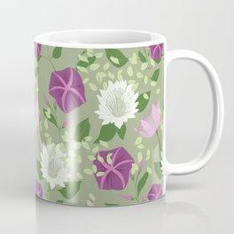 Moa Green Coffee Mug