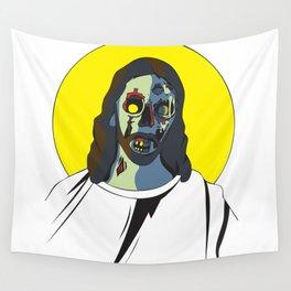 Zombie Jesus Wall Tapestry