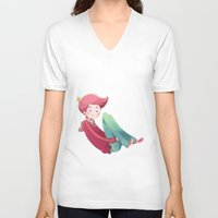 gumball V-neck T-shirts featuring Prince Gumball by Sei00