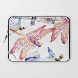 Dragonfly Pack Pink and Blue Laptop Sleeve
