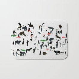 The animals and I Bath Mat