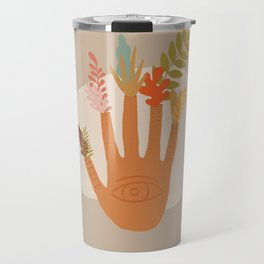 The Hand of Nature Travel Mug