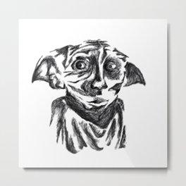 Dobby-The Hero Metal Print