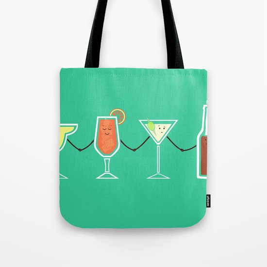 Cocktails! Tote Bag