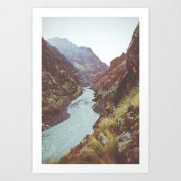 Hell's Canyon Art Print