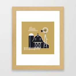 Life Is Better On The Farm Framed Art Print