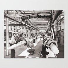 Star Wars factory Canvas Print