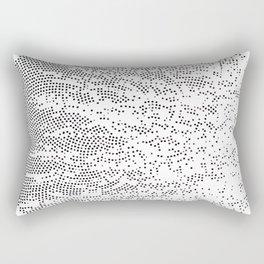 Planet Surface Circle Rectangular Pillow
