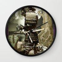 fallout Wall Clocks featuring Fallout by Danielle Tanimura