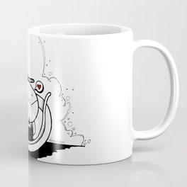 A glider-hug for a ninja Coffee Mug