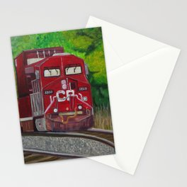 CP Train and Worke Stationery Cards