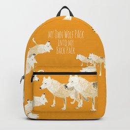 Totem white wolf nubilus Backpack