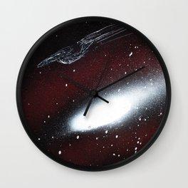 smooth sailing (Small Space 13) Wall Clock