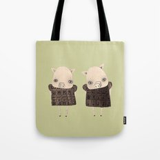 the two little cyberbullies Tote Bag