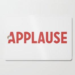 Applause Cutting Board