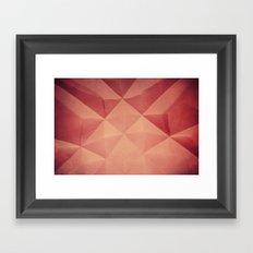 bóveda III Framed Art Print