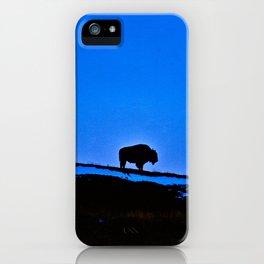 The Last Buffalo iPhone Case