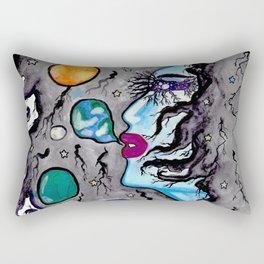 Space Mama Rectangular Pillow