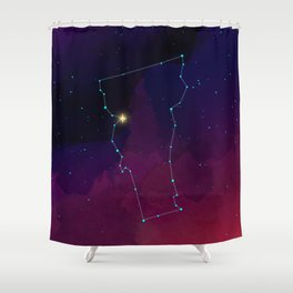 Vermont Constellation Shower Curtain