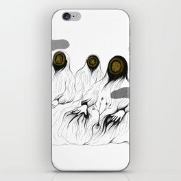 whos there - 3 iPhone Skin