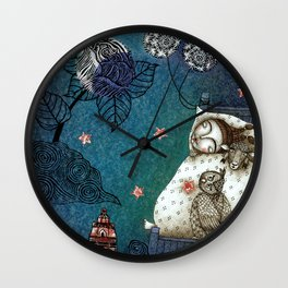 Bed-Time Wall Clock