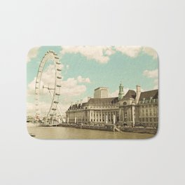 London Eye Love You Bath Mat