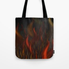 We Are All Burning Tote Bag