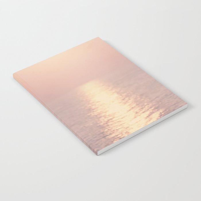 cashmere rose sunset Notebook