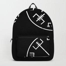 viking compass symbol Backpack