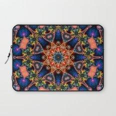 BBQSHOES: Kaleidoscopic Fractal Digital Art Design 1702K Laptop Sleeve