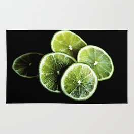 lemon lima Rug