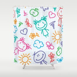 Kidfull Shower Curtain