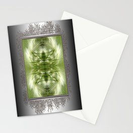 Hordeum Jubatum Abstract Stationery Cards
