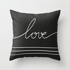 LOVEBLCK Throw Pillow